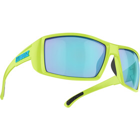Bliz Drift Brille matte lime green/smoke/blue multi